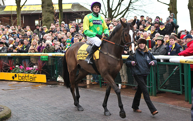 Clifford Baker and Kauto Star